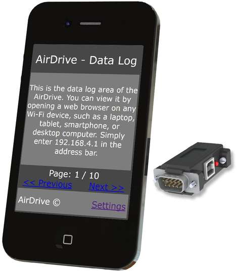 AirDrive Serial Logger Pro